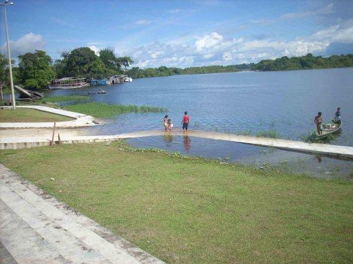 Vista do Lago de Maraã