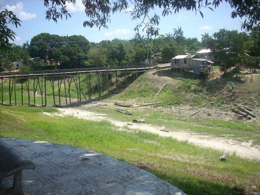 Ponte de Maraã na seca